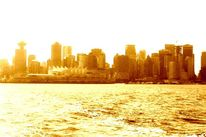 Fotografie, Skyline, Wolkenkratzer, Vancouver