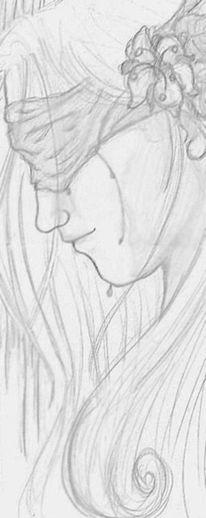 Menschen, Profil, Portrait, Tränen