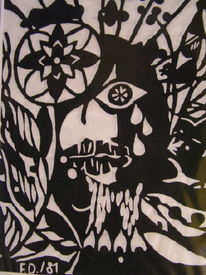 Metall, Kunsthandwerk, Flora