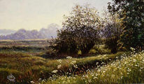 Feld, Münster, Malerei