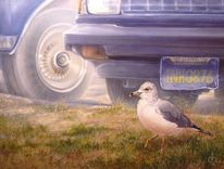 Möwe, Vogel, Malerei