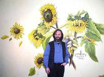 Sonnenblumen, Pinnwand