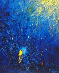 Vogel, Pirol, Malerei