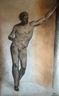 Statue, Griechisch, Griechisch statue, Zeichnung