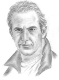 Zeichnung, Portrait, Zeichnungen, Wolf