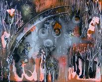 Abstrakt, Malerei, Mystik, Repräsentativ