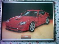 Rot, Auto, Ferrari 575, Malerei