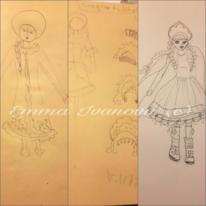 Emmasdesign, Winter, Granddaughter, Russisch