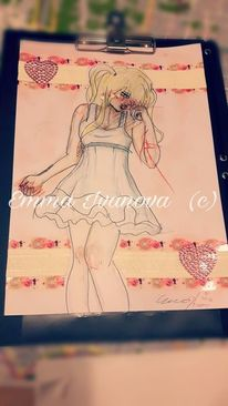 Borderline, Weinen, Anime, Gothic