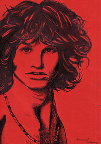Morrison, Tusche, Zeichnungen,