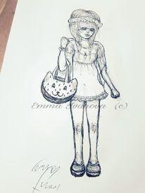 Wassermelone, Kuli, Emmaivanova, Comic