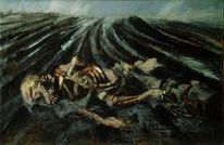Schwarz, Schlachtfeld, Malerei, Verwesung