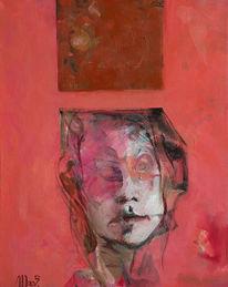 Malerei, Gehirn, Überich, Druck