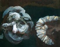 Braun, Malerei, Menschenwerk, Figural