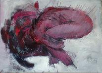 Figural, Fußlos, Embryonal, Malerei