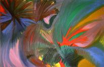 Abstrakt, Malerei, Explosion