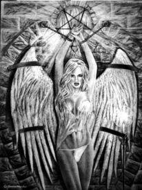Zeichnung, Engel, Zeichnungen, Angel
