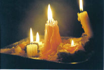 Fotografie, Licht, Kerzen, Hoffnung