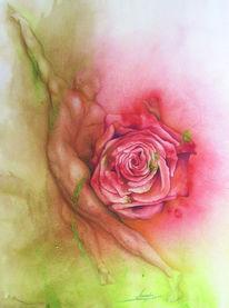 Malerei, Figural, Kraft, Schönheit