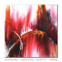 Malerei, Abstrakt, Tanz, Vulkan