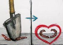 Skizze, Zeichnung, Zeichnungen, Liebe