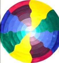 Kreis, Skizze, Illusion, Malerei