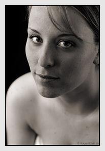Portrait, Menschen, Fotografie, Monochrom