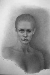Portrait, Portraitzeichnung, Portraitzeichnung portraitmalerei portrait, Porträtmalerei