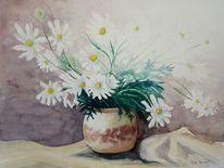 Krug, Weiß, Stillleben, Malerei