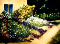 Landschaft, Malerei, Südfrankreich