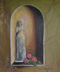 Landschaft, Malerei, Madonna
