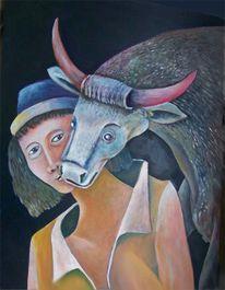 Temperamalerei, Ölmalerei, Malerei