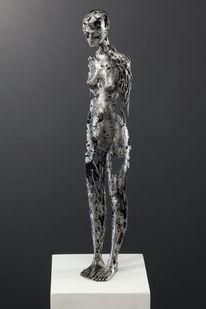 Weiblich, Metall, Figural, Schweißen