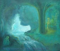 Einsamkeit, Höhle, Liebe, Surreal