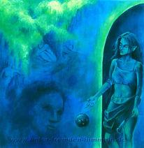 Angst, Blau, Sinn, Surreal