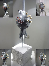 Keramik, Kunsthandwerk, Kuh