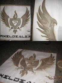 Kunsthandwerk, Logo, Design,