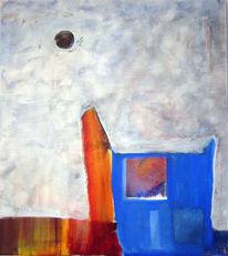 Abstrakt, Hut, Stein, Malerei