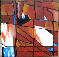 Sehnsucht, Abstrakt, Trennung, Malerei