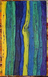 Baum, Malerei, Wald, Leben