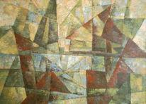 Abstrakt, Malerei, Idylle