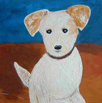 Figural, Malerei, Hund, Tiere