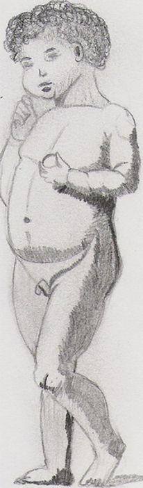 Skizze, Zeichnung, Zeichnungen, Kleinkind