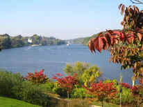 See, Herbst, Wasser, Landschaft
