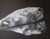Malerei, Eisbär,