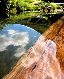 Wasser, Bach, Fotografie, Himmel