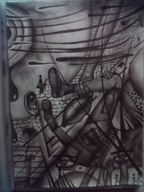 Abstrakt, Zeichnung, Surreal, Zeichnungen