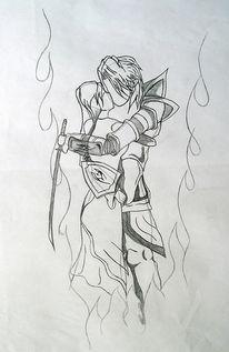 Zeichnung, Zeichnungen, Manga