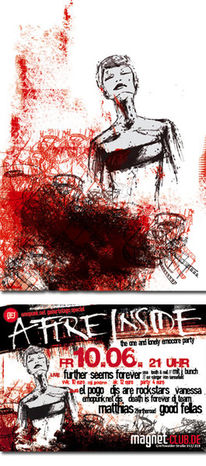 Grafik, Flyer, Frau, Plakatkunst