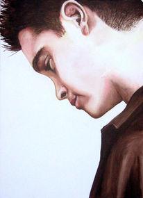 Ölmalerei, Frau, Menschen, Acrylmalerei